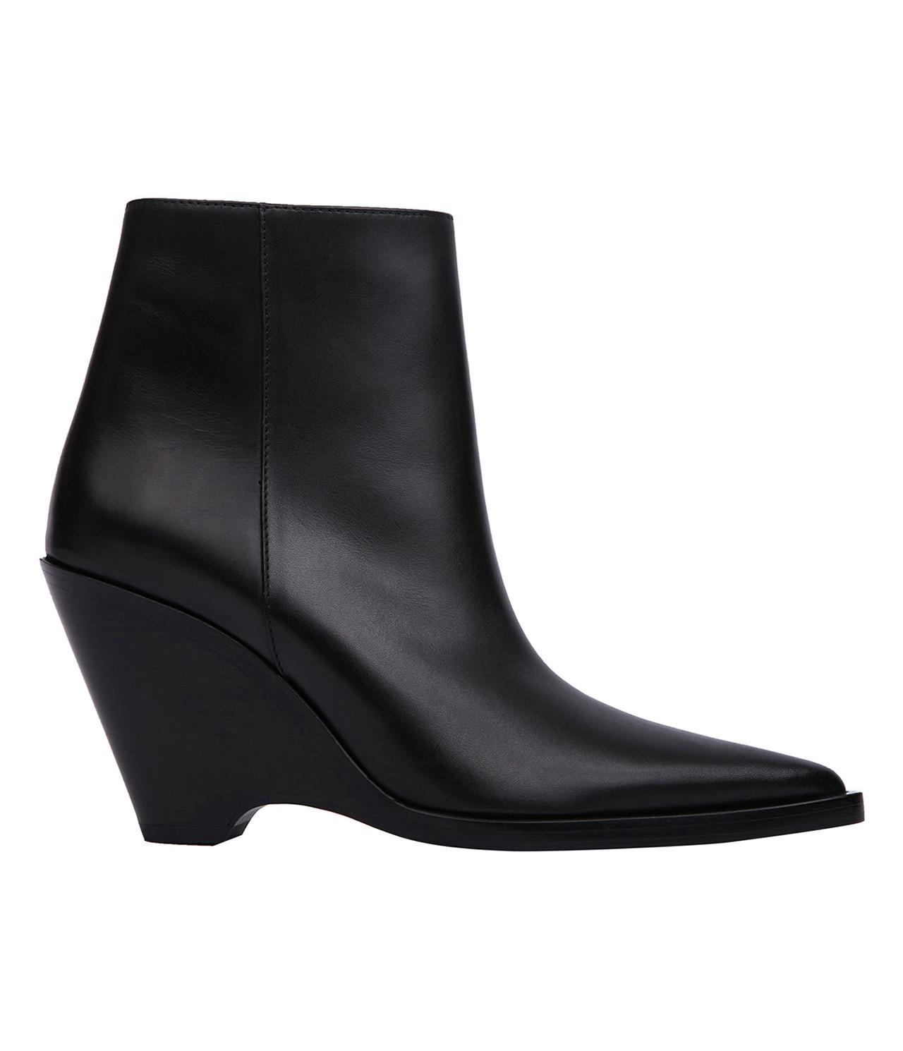 Acne Studios. Women's Black Caroline Ankle Boot