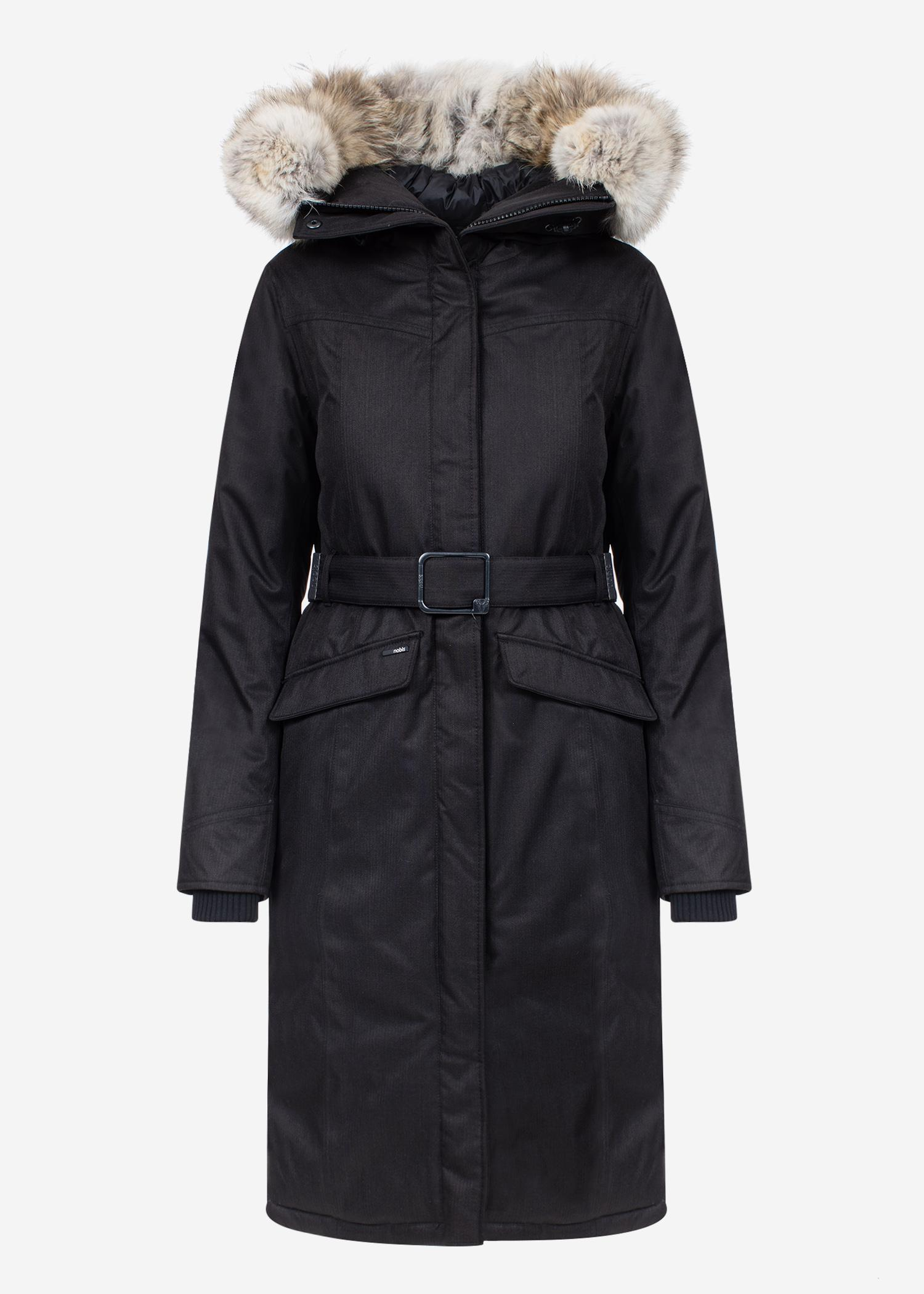 9bbe8bfa0 Lyst - Nobis Morgan Ladies Parka in Black