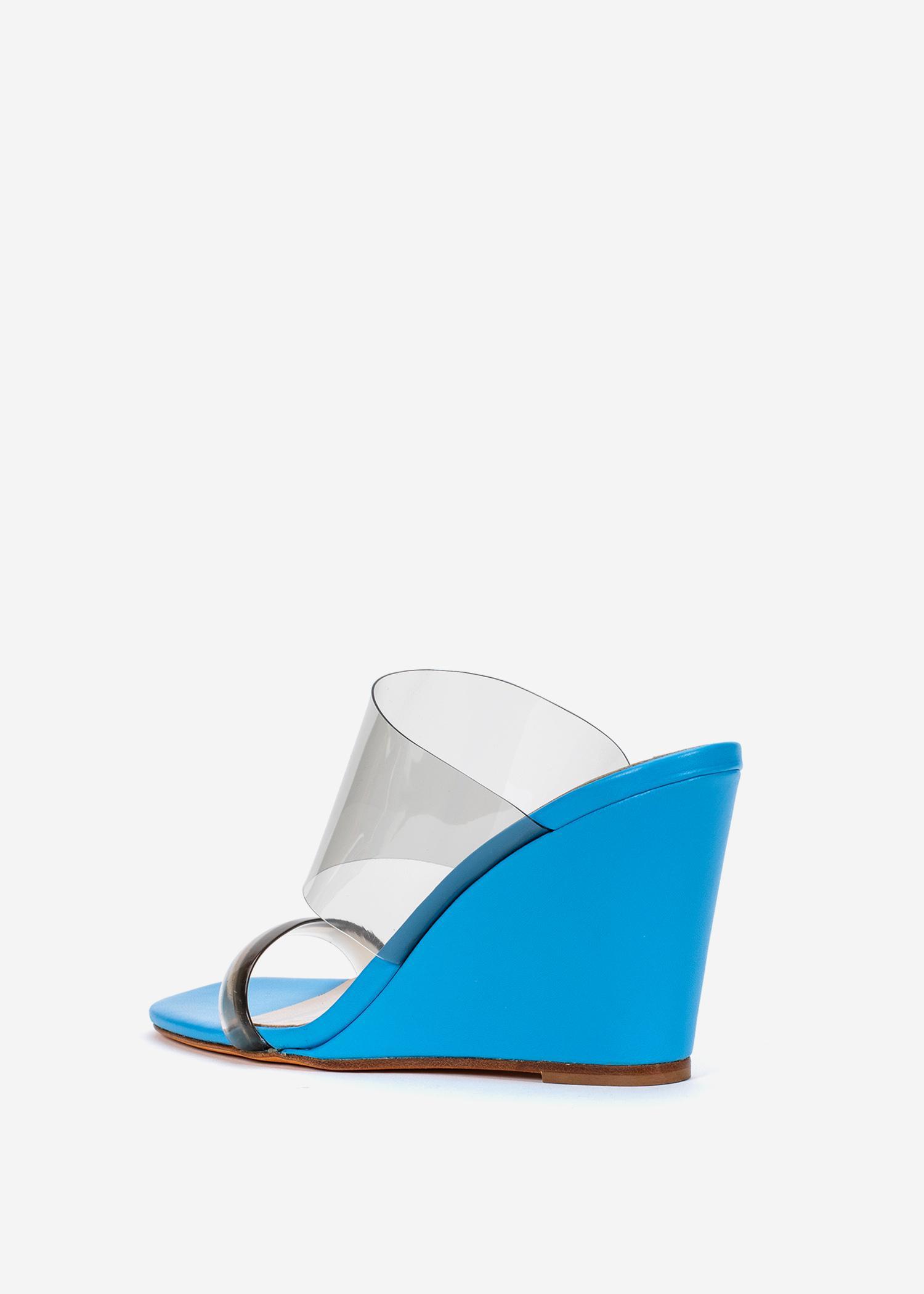 38a9f5ac933 Maryam Nassir Zadeh - Blue Olympia Wedge Heels - Lyst. View fullscreen