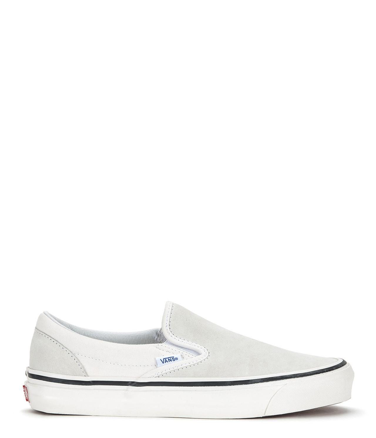 228a654589925b Vans Anaheim Factory Classic Slip-on 98 Dx in White for Men - Lyst