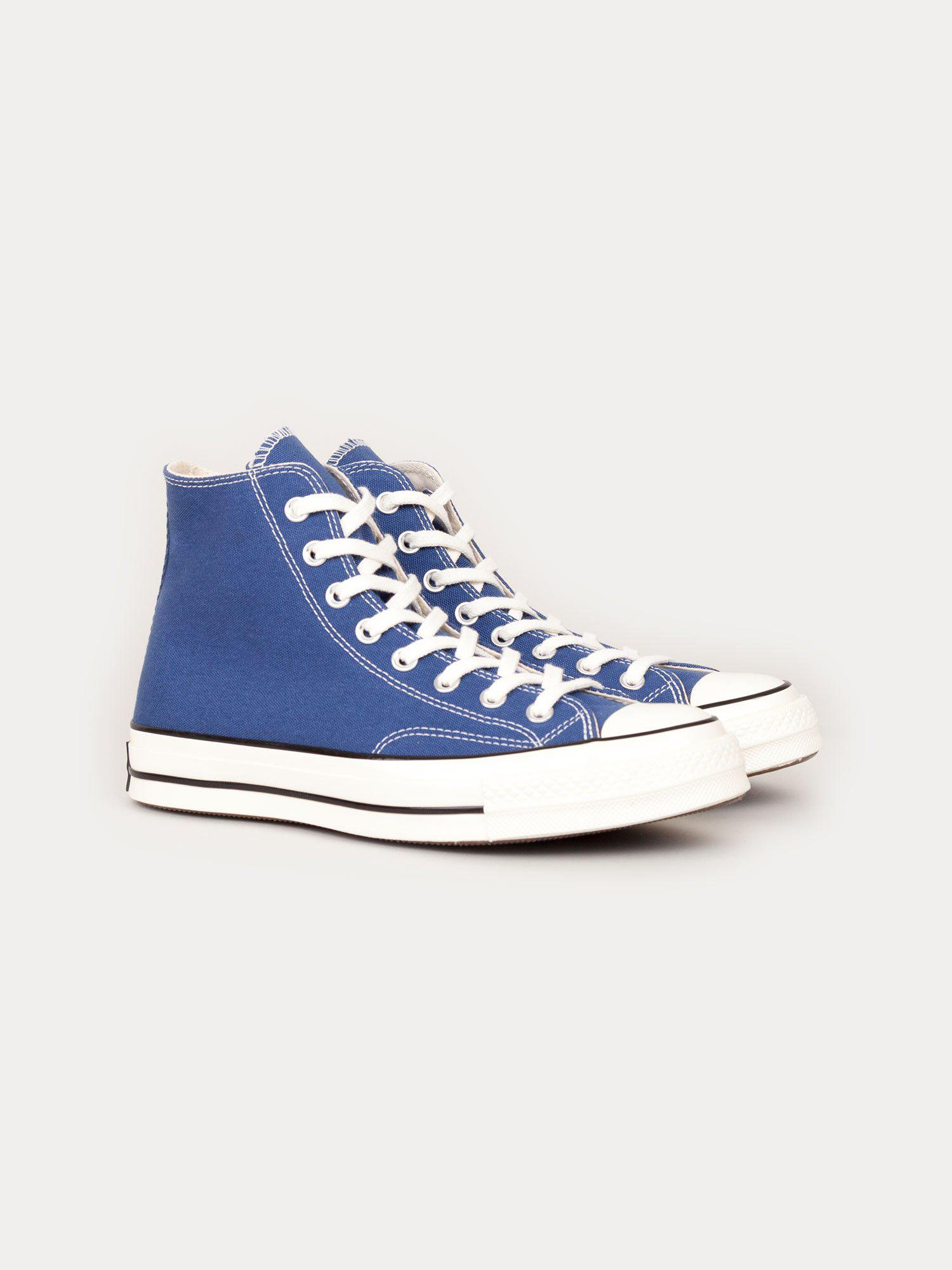 8279ecd28eab Converse - Blue Chuck Taylor All Star 70  Hi for Men - Lyst. View fullscreen