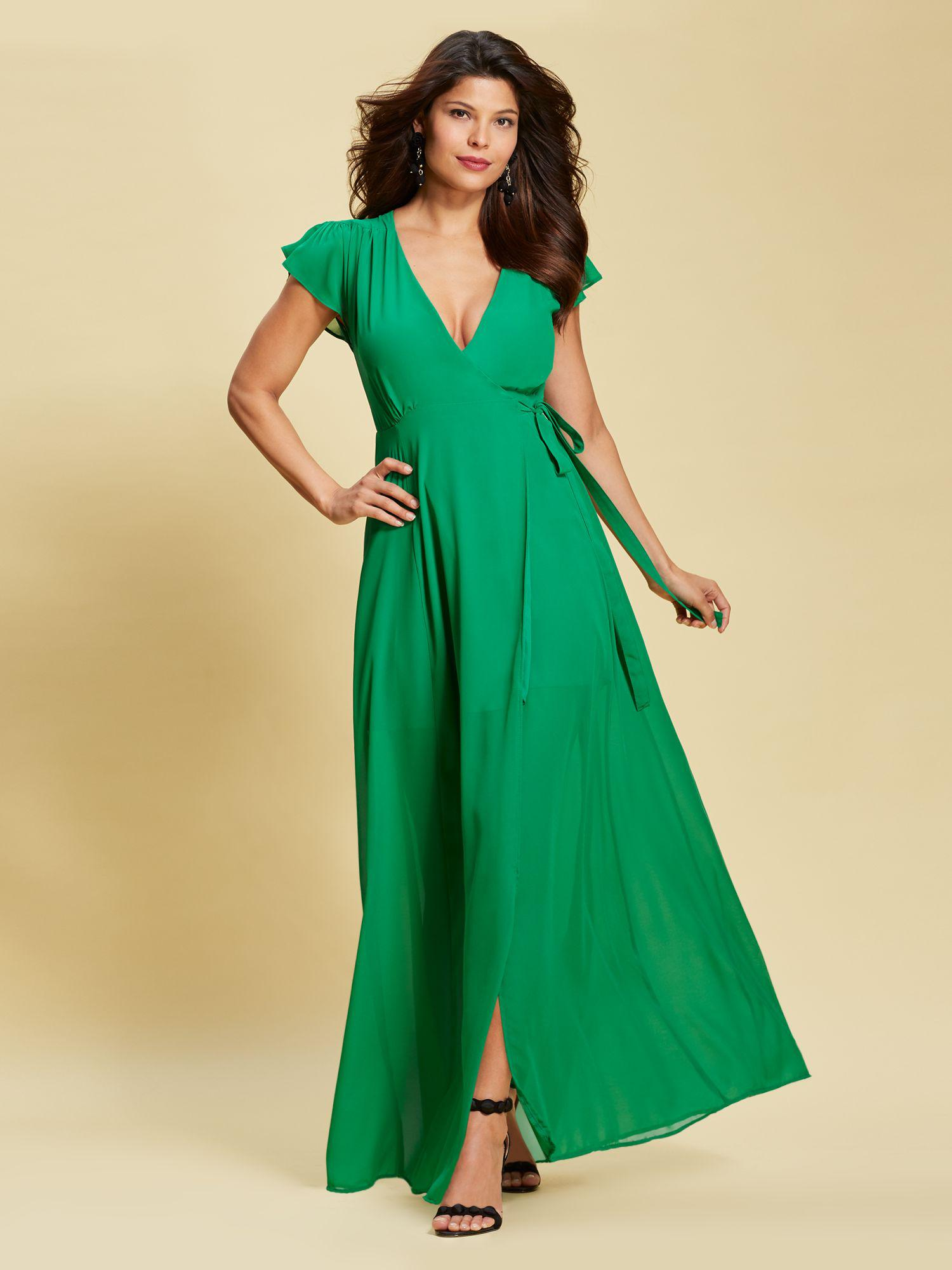 40a75b7aa14 Lyst - New York   Company Eva Mendes Collection - Allison Maxi Dress ...