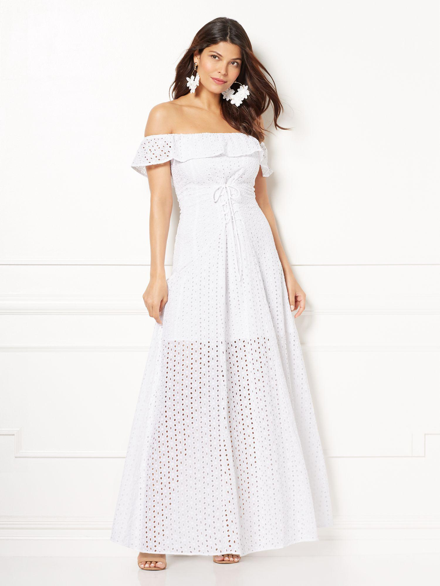 c35b86922032 Gallery. Previously sold at  New York   Company · Women s Off The Shoulder  Dresses ...