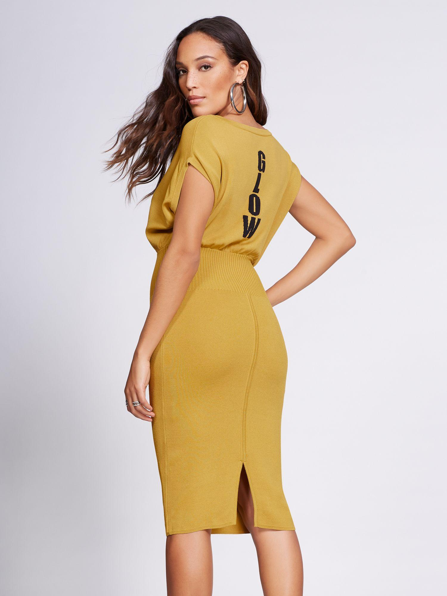 61839848ca New York   Company. Women s Yellow Gabrielle Union Collection -