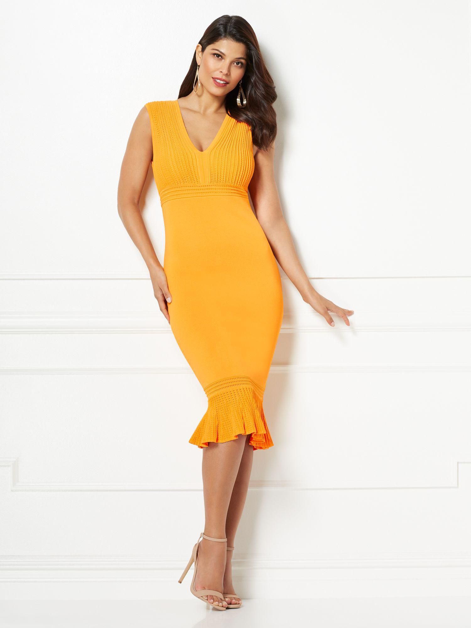 f744aa65c16 Gallery. Previously sold at  New York   Company · Women s Orange Dresses