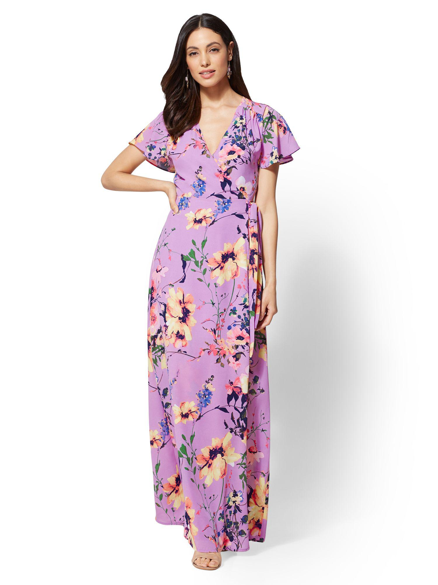 c0d038af558db Gallery. Previously sold at  New York   Company · Women s Wrap Dresses  Women s Floral ...