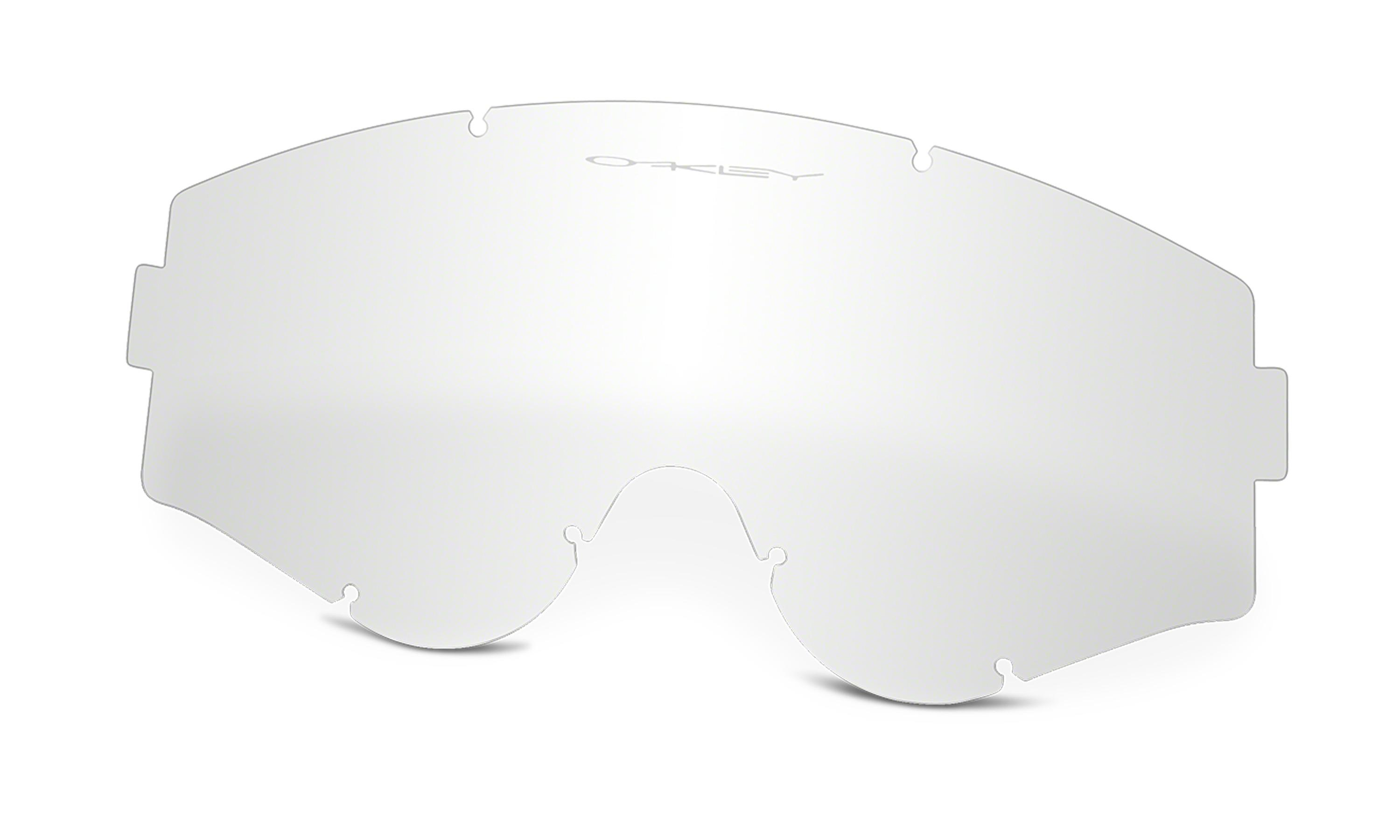 1e5b34122a Lyst - Oakley L-frame Mx Replacement Lens in White for Men