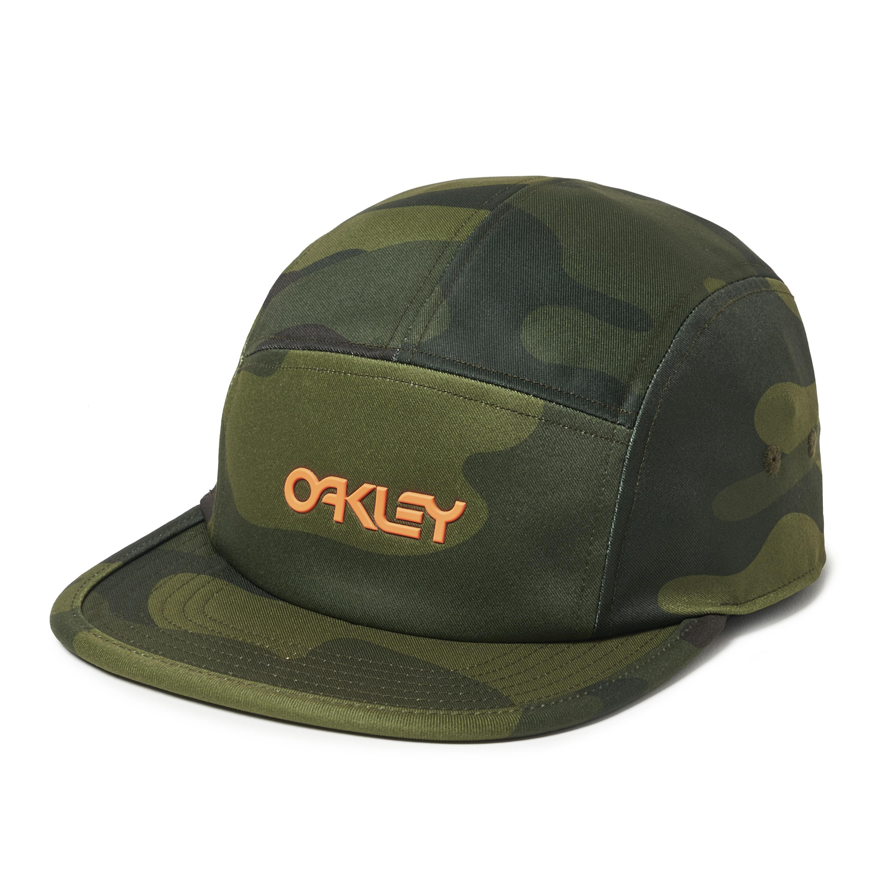f16178faef4 Lyst - Oakley 5 Panel Cotton Camou Hat in Green for Men