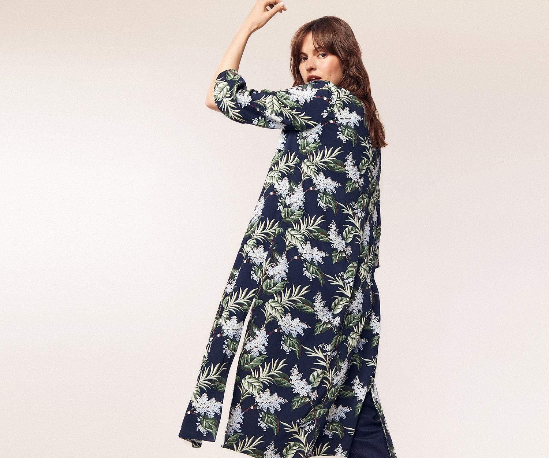 407693741949 ... Delray Longline Kimono - Lyst. View fullscreen