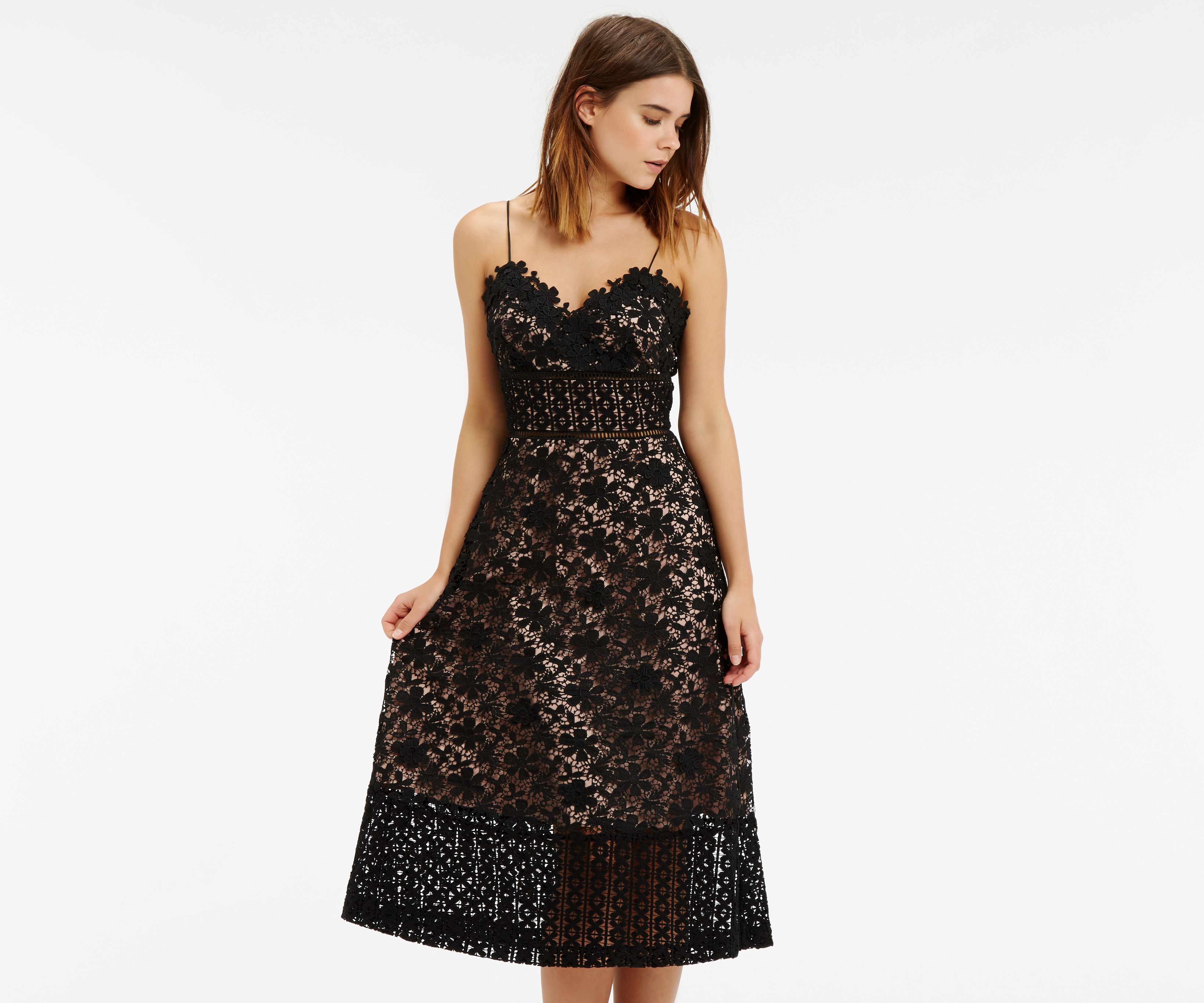 Lyst - Oasis Limited Edition Lace Cami Dres