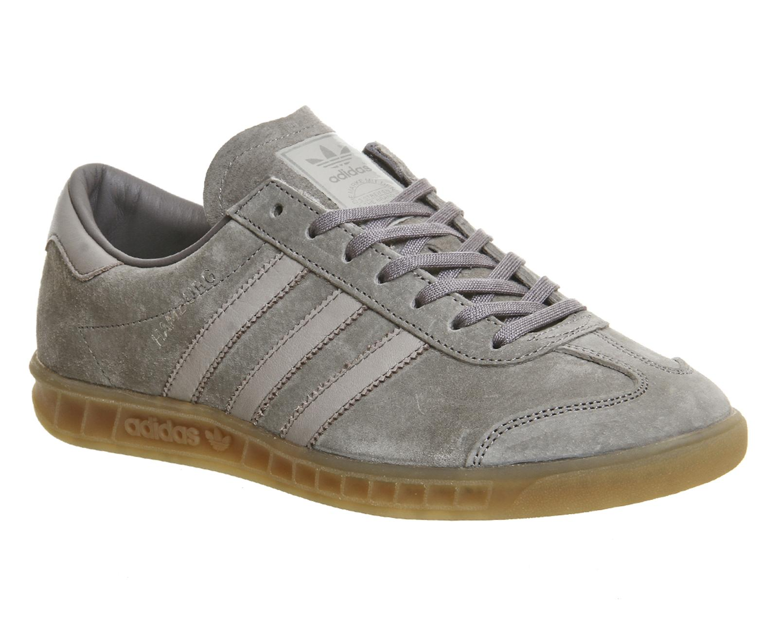 gray adidas trainers