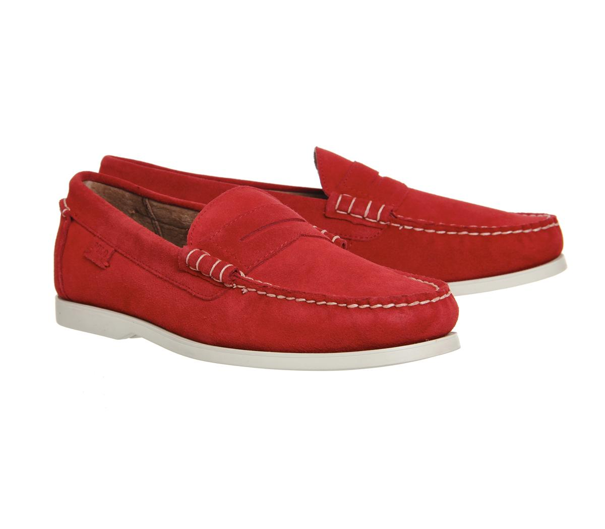 Polo Ralph Lauren Red Bjorn Shoes
