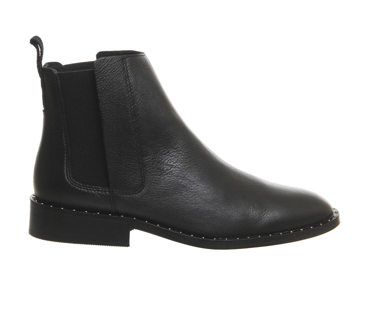 office jinx studded chelsea boots in black lyst