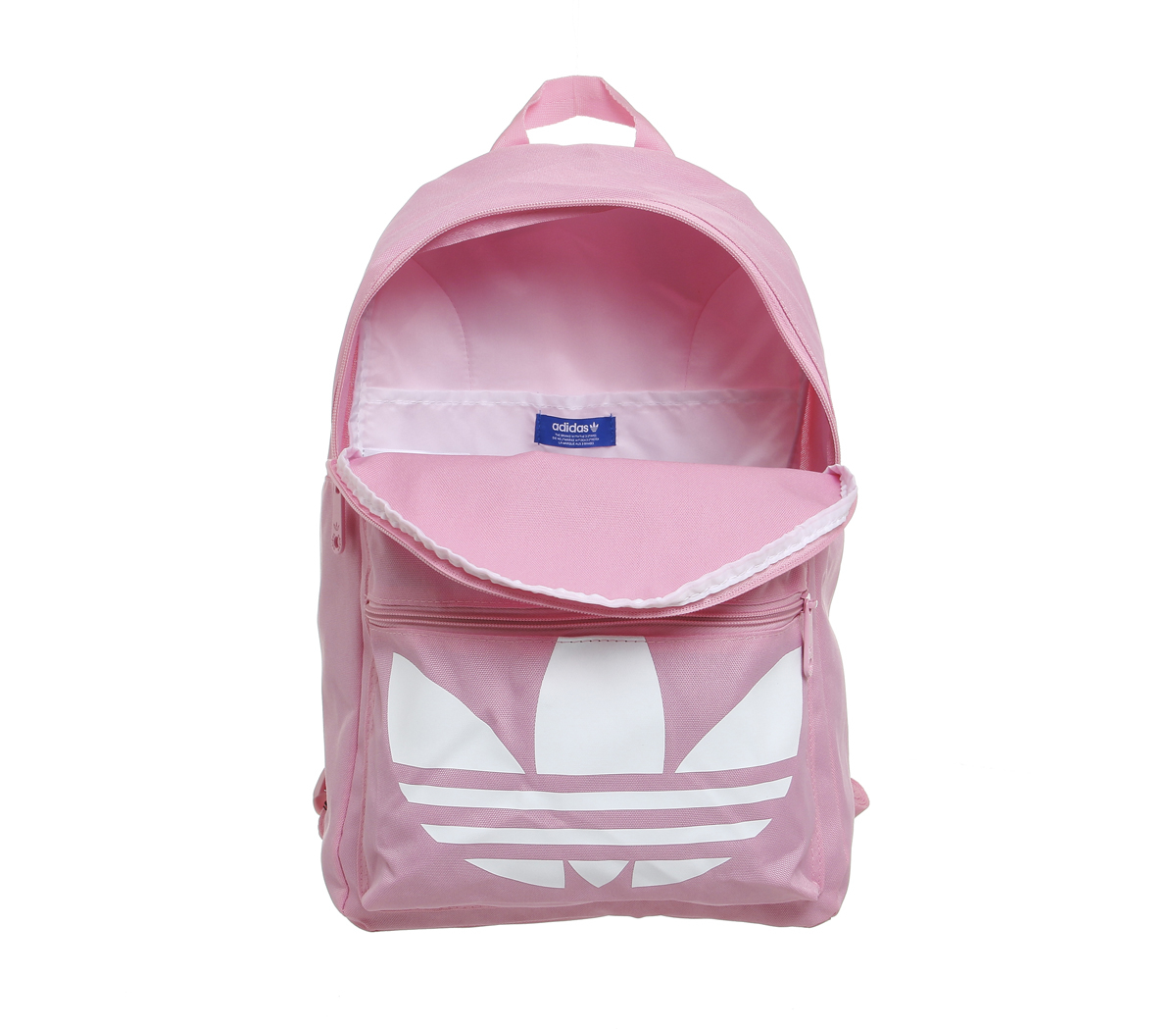 502613675f Lyst - adidas Originals Trefoil Canvas Backpack in Pink