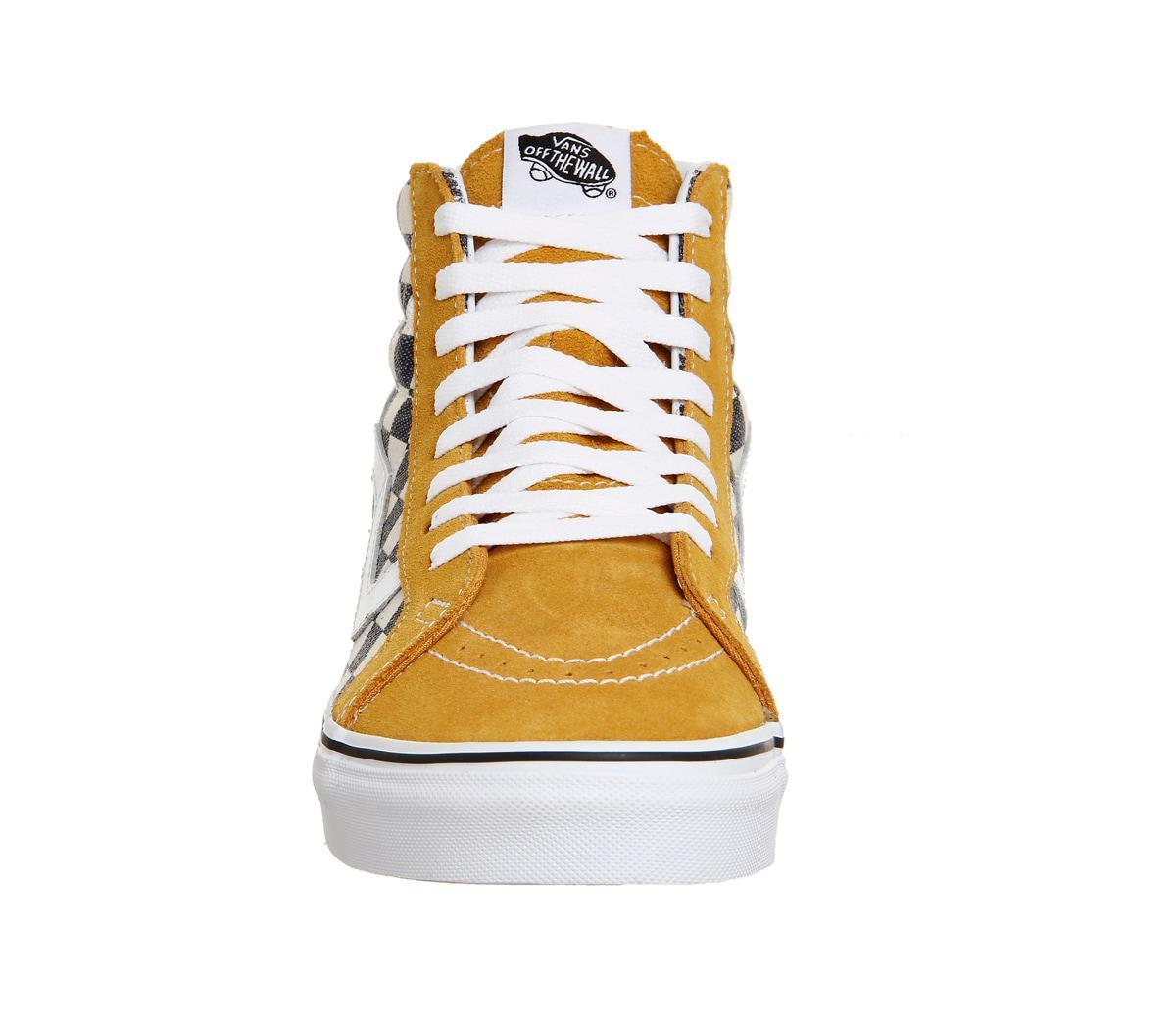 dc7bf2d6d9 Lyst - Vans Sk8 Hi Reissue in Yellow