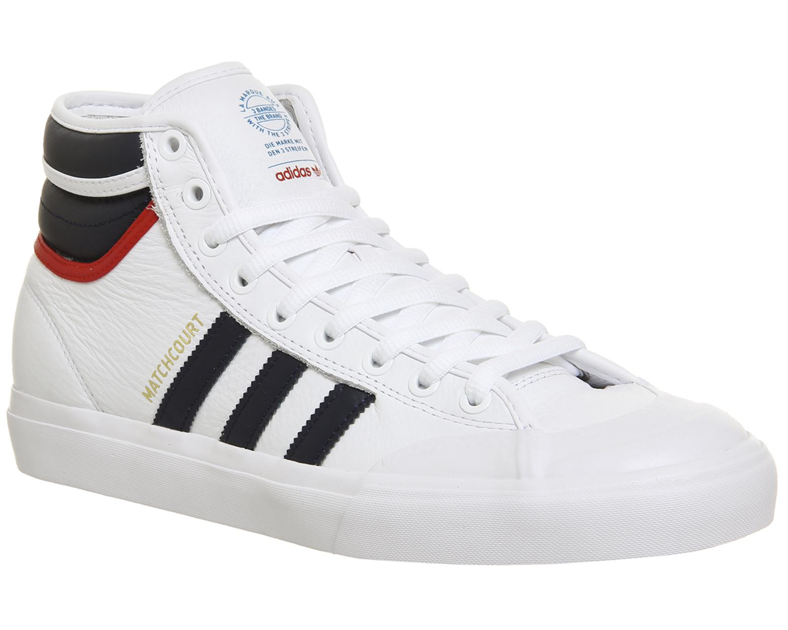 Adidas Matchcourt High Rx2 in White for Men - Lyst 5730dcf31