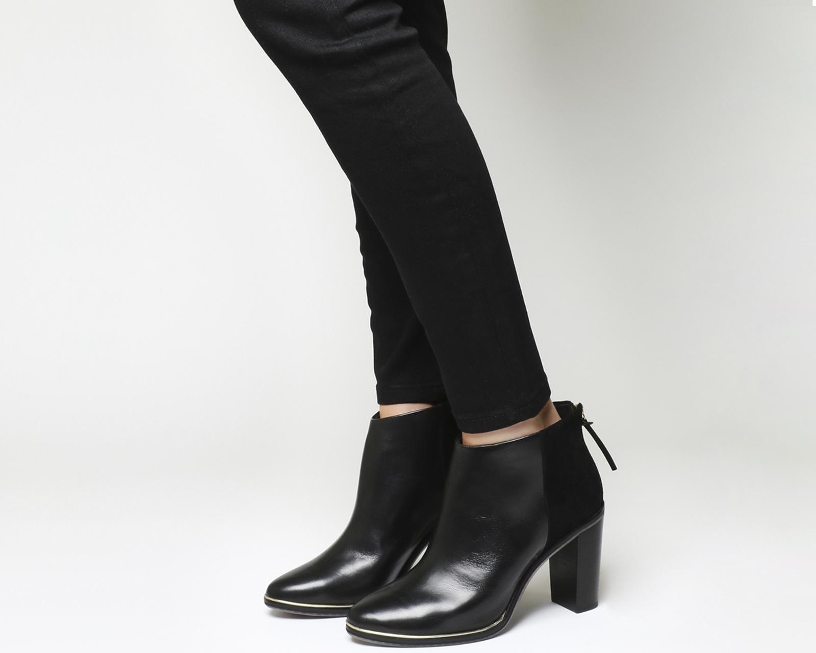 040e3c817be9 Lyst - Ted Baker Azaila Ankle Boots in Black