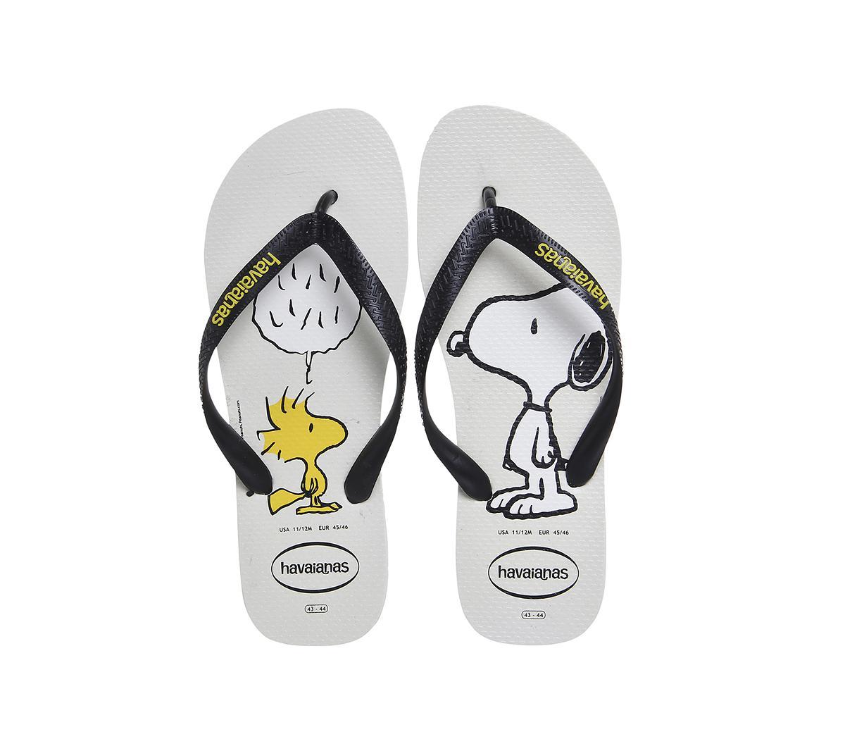e2aeffd6b460a Lyst - Havaianas Snoopy Flip Flop in Black for Men