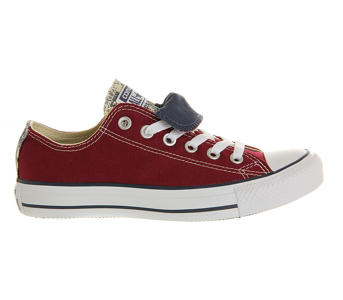 f64123ee1c1d For For Low In Converse Double Double Tongue Men Lyst Allstar Red xwqqOfzA