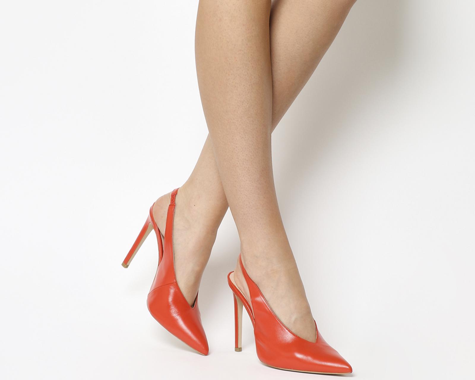 Office HIX - High heels - orange kM984KKwIn