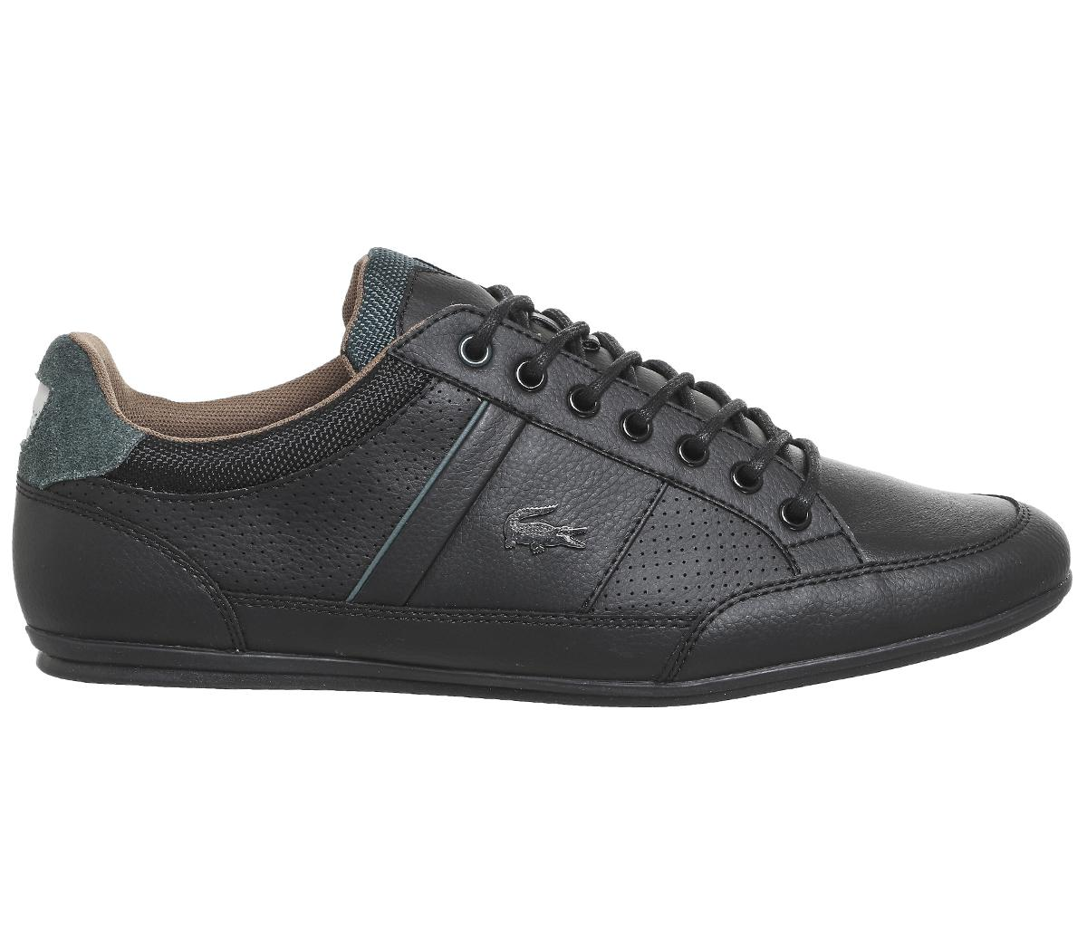 Chaymon Trainers In Black - Black Lacoste