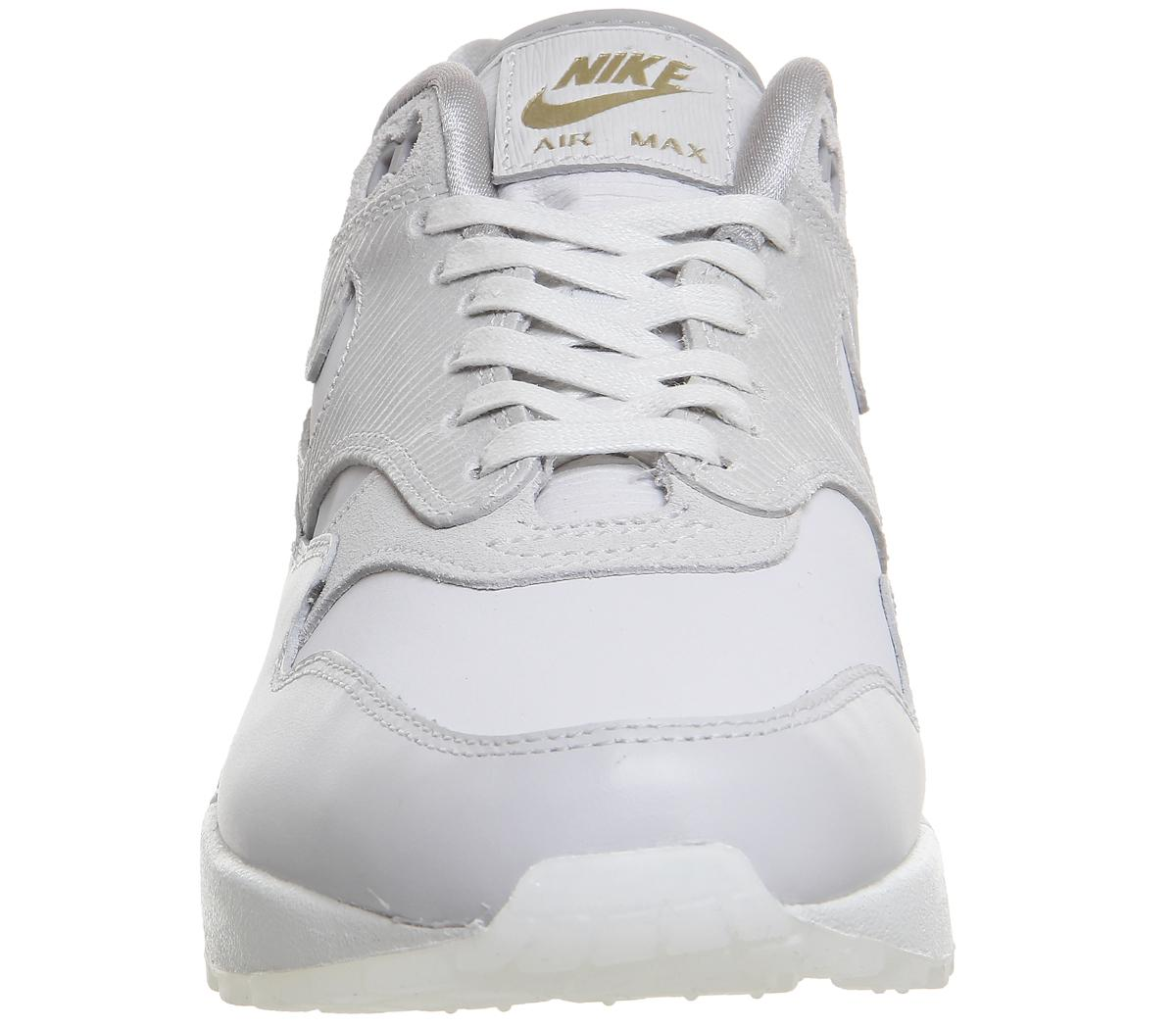 size 40 6e27e d8aa2 Lyst - Nike Air Max 1 Trainers in Gray for Men