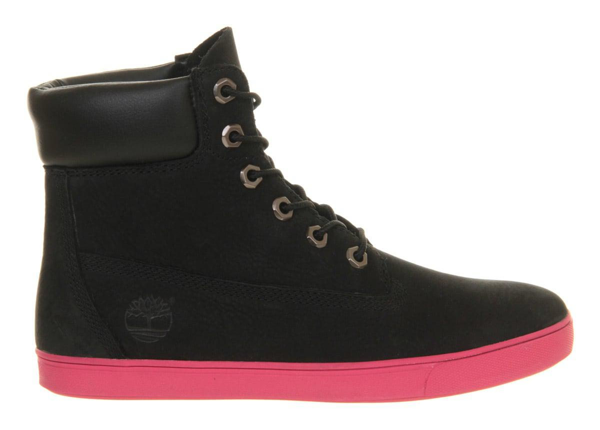 35e047600fa0 Timberland Deering 6 Inch Cupsole Boots in Black - Lyst