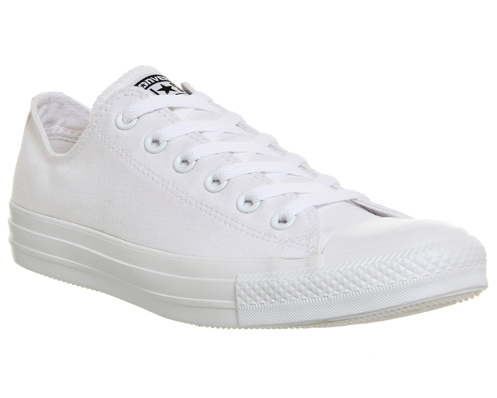 lyst converse all star low in white. Black Bedroom Furniture Sets. Home Design Ideas