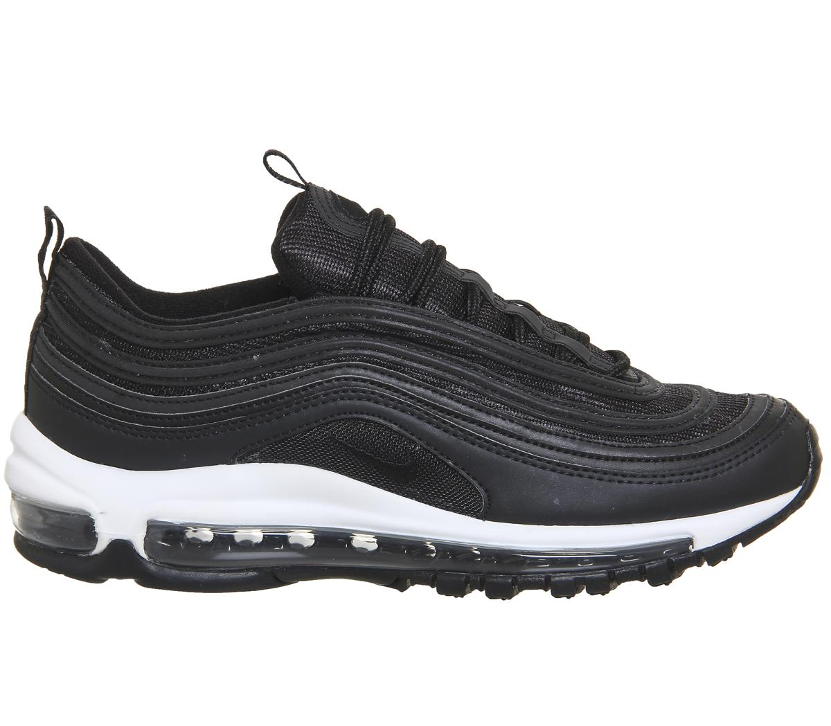 brand new aa4e4 538ac Lyst - Nike Air Max 97 Trainers in Black - Save 9.22330097087378%