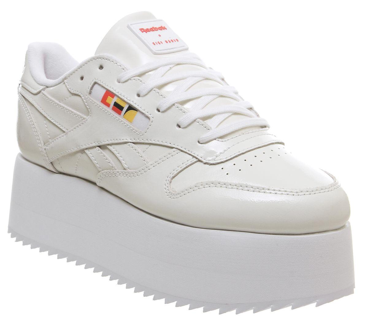 6fc7b052347 Lyst - Reebok Classic Leather Bold in White
