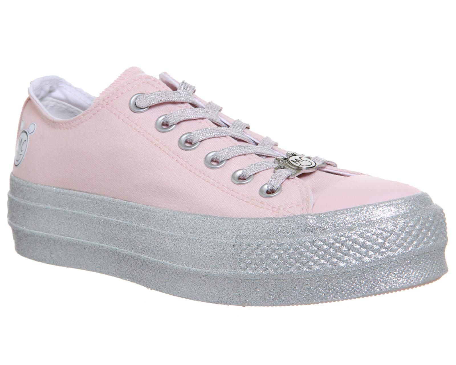 b05cf548e14138 Converse Ctas Lift Ox Trainers in Pink - Lyst