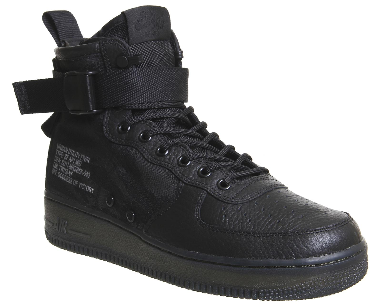 Lyst - Nike Sf Af1 Mid 17 in Black for Men ea5333776