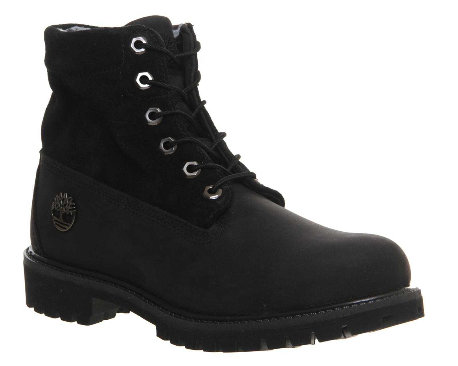 d06cf3ad052 Timberland Roll Top Boots in Black for Men - Lyst