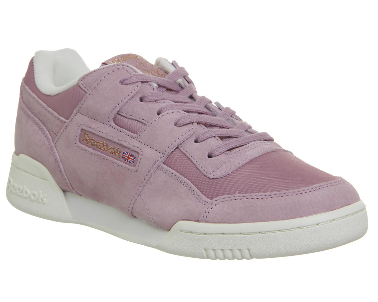 Reebok Workout Lo Plus in Purple - Save 22.22222222222223% - Lyst 1de987c71