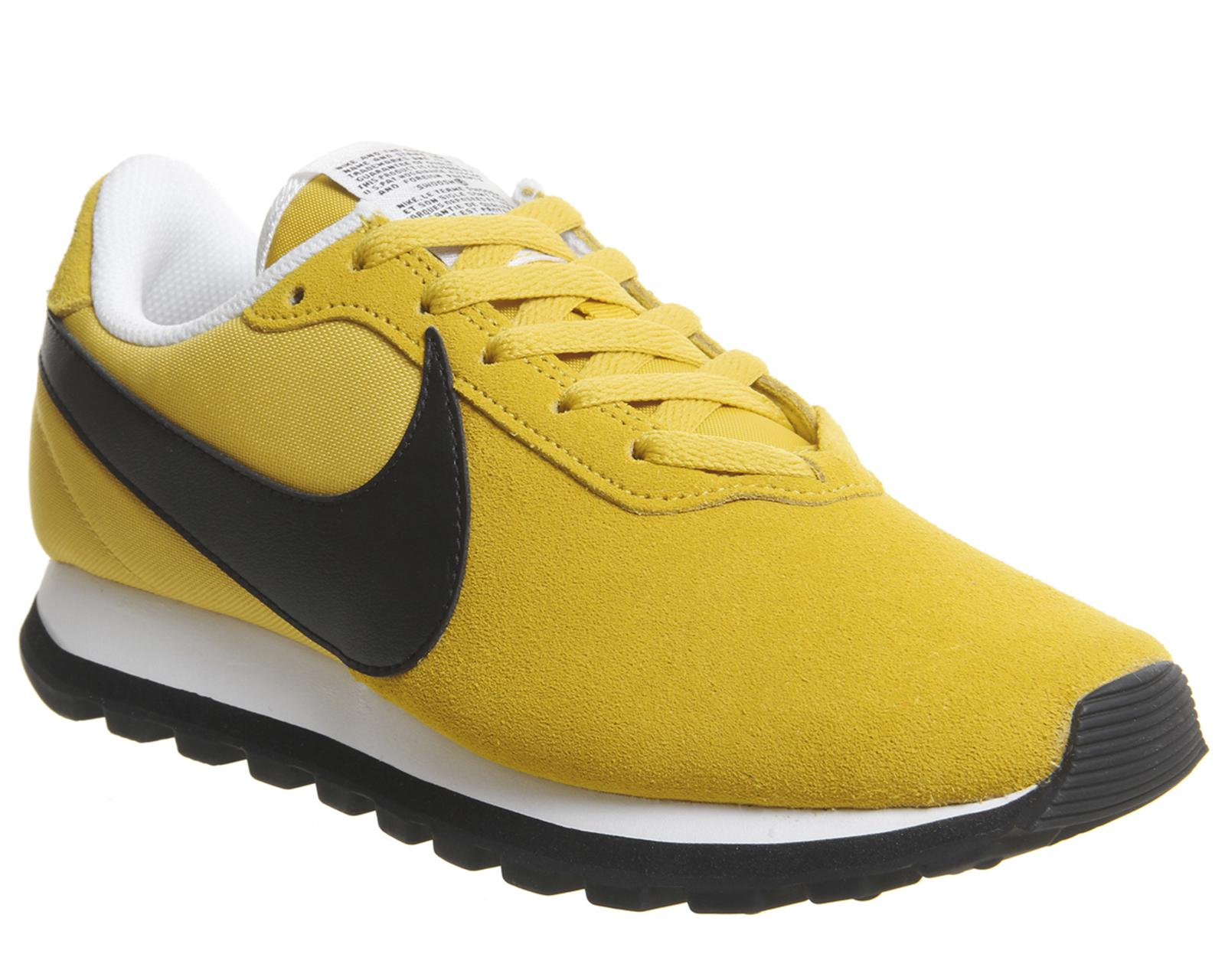 Nike Sportswear PRE-LOVE O.X. - Trainers - yellow ochre/black/summit white uVrtpTFSE