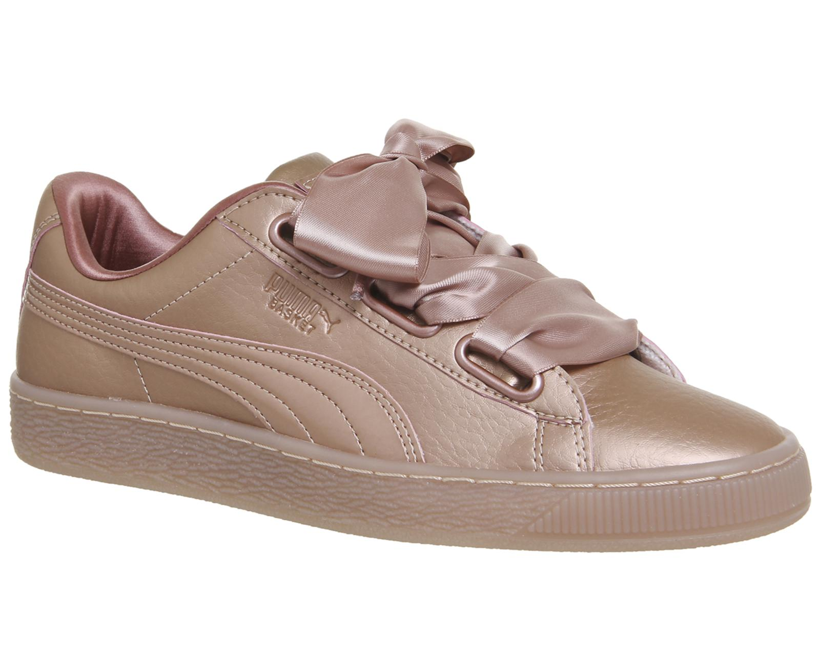 ff4c7666a38123 Puma Basket Heart Trainers - Lyst
