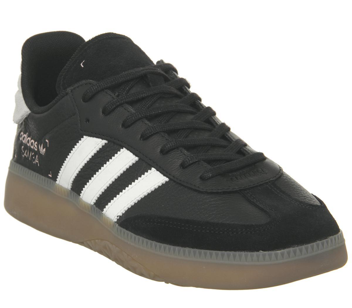 on sale e1ff8 58224 adidas. Mens Black Samba Rm Trainers