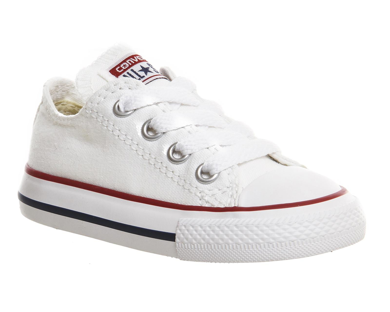 970dddee8dc5 Converse All Star Low Infant Shoes in White for Men - Lyst