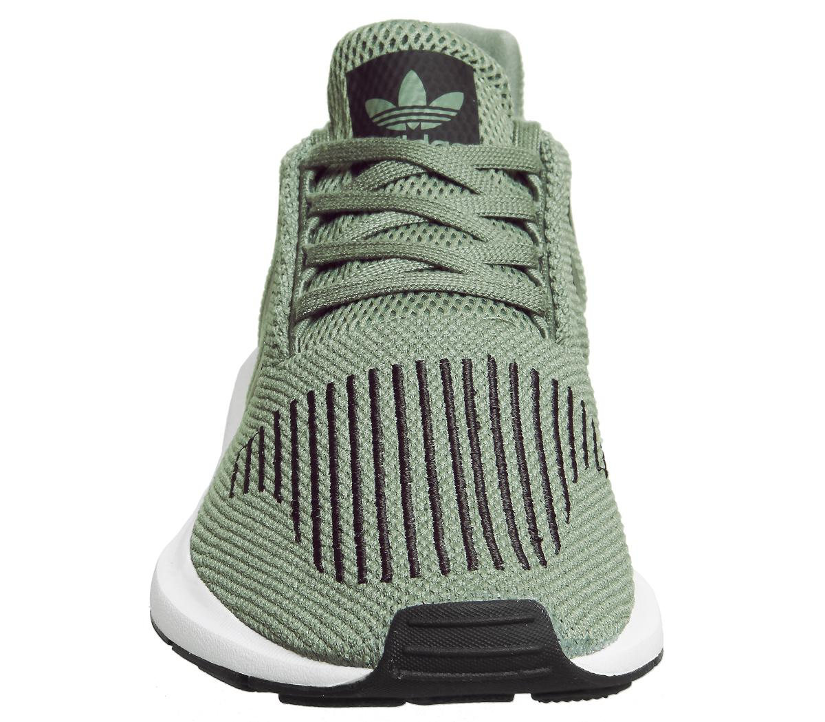 9113265c1 adidas Adults  Swift Run Trainers in Green for Men - Lyst