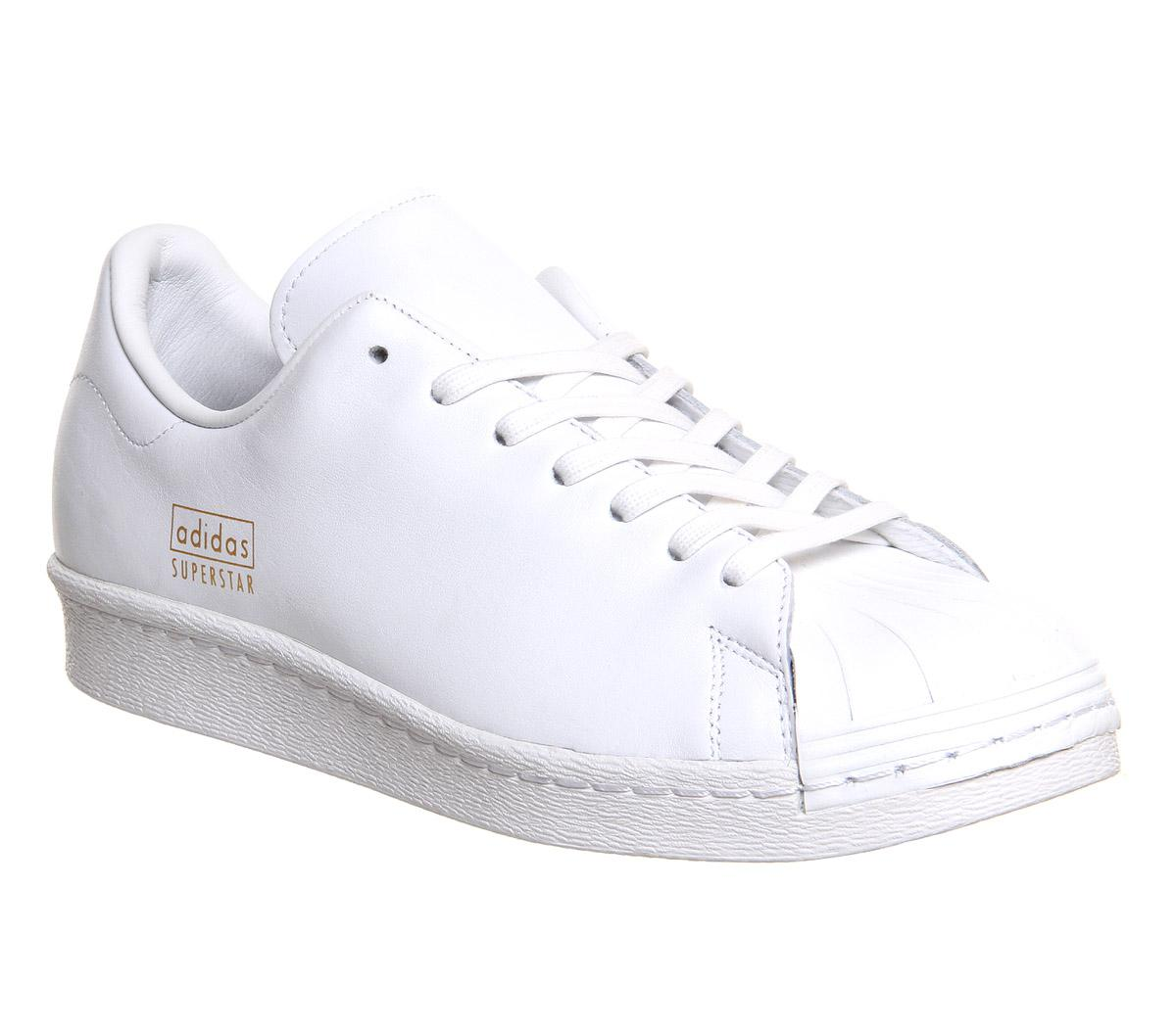 Clean Adidas 80s Superstar White All Yf7bgv6y