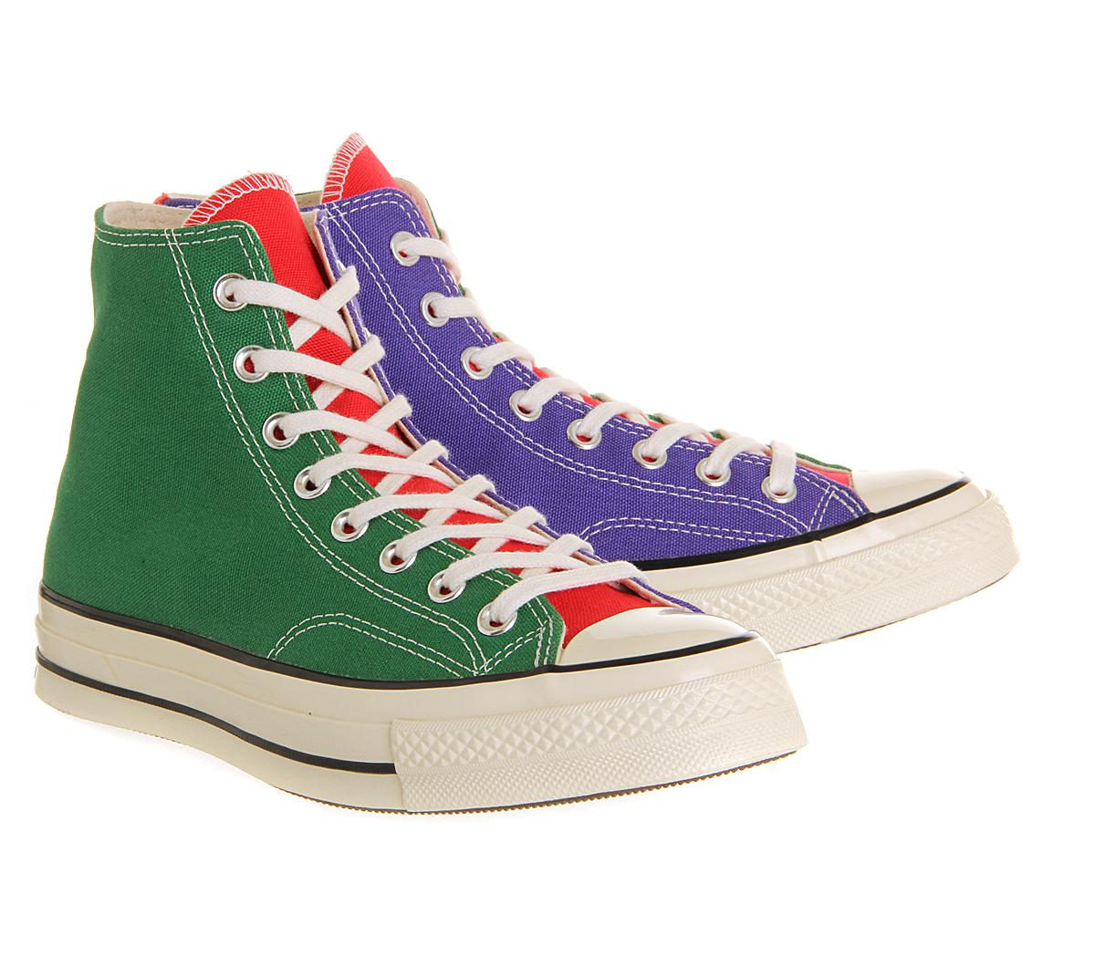 1ced857419e1 Lyst - Converse All Star Hi 70 s in Green for Men