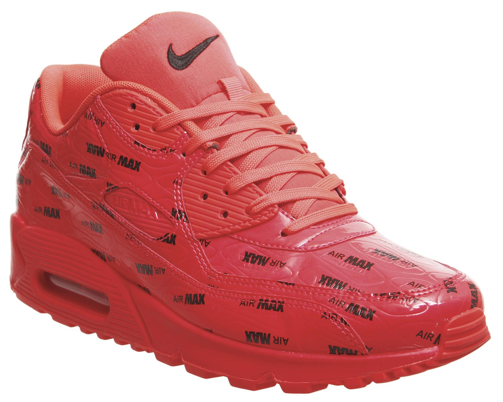 nike air max 90 trainers red