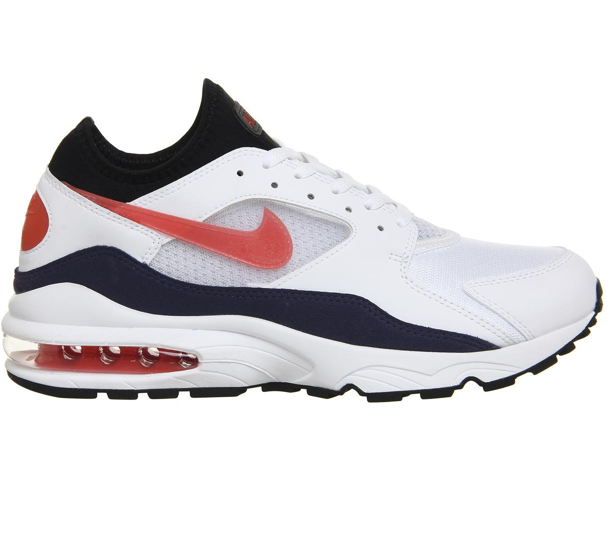 f55733447679 ... release date lyst nike air max 93 trainers in white for men 299e4 7c68e