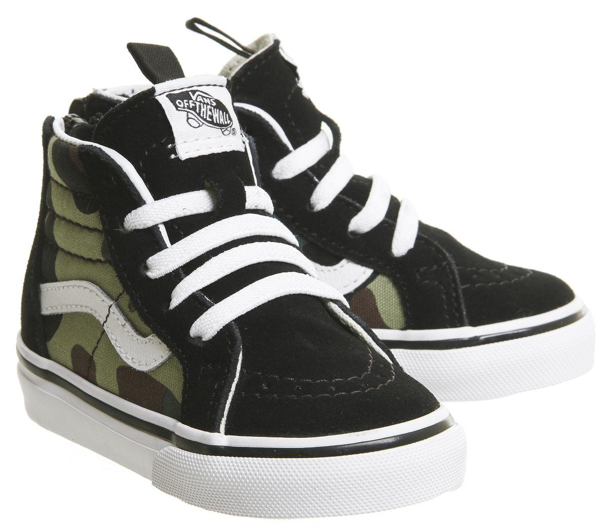dcc75b5d90 Lyst - Vans Sk8 Hi Zip Toddler in Black for Men