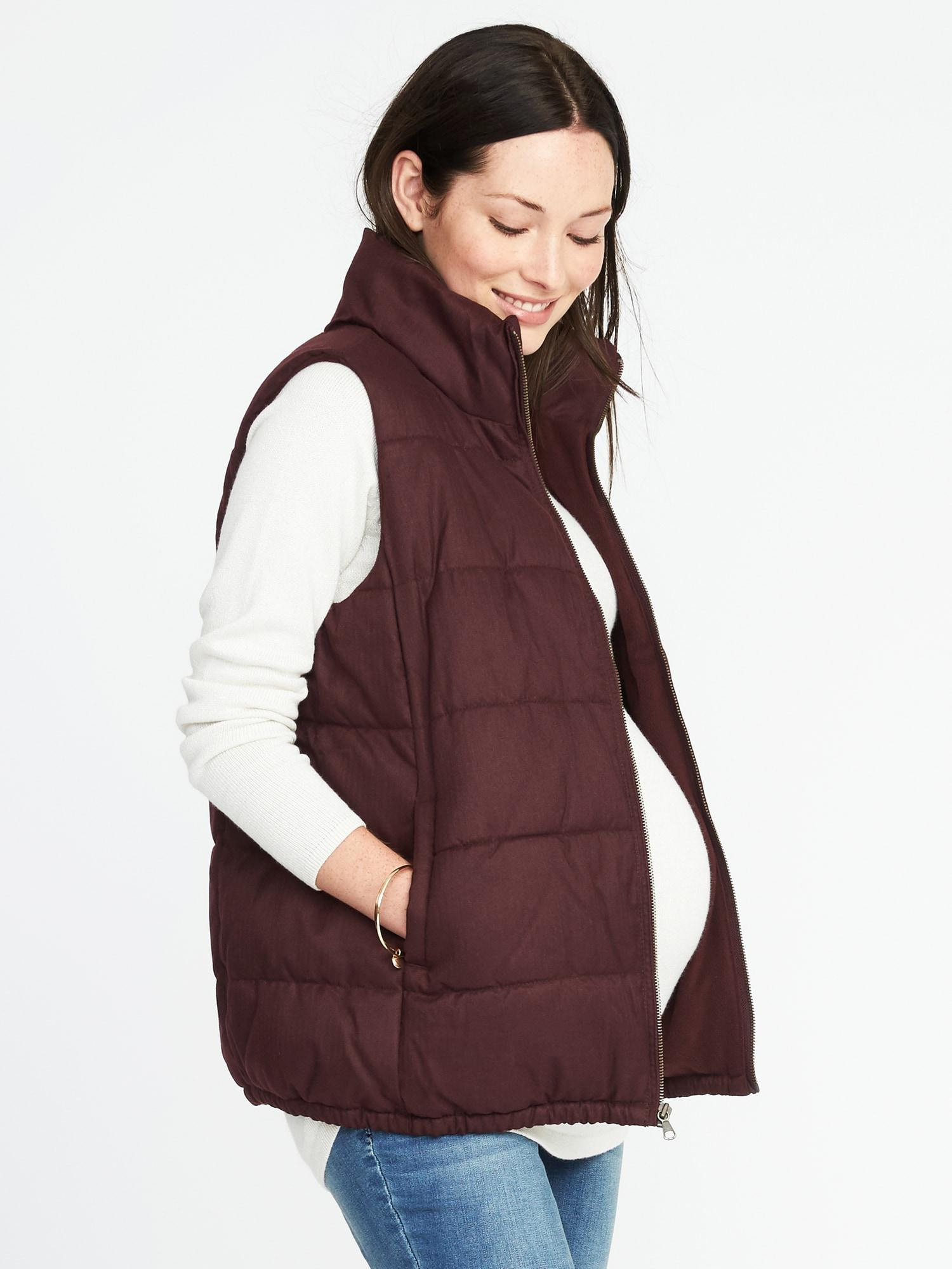 465a2b46583 Lyst - Old Navy Maternity Frost-free Vest