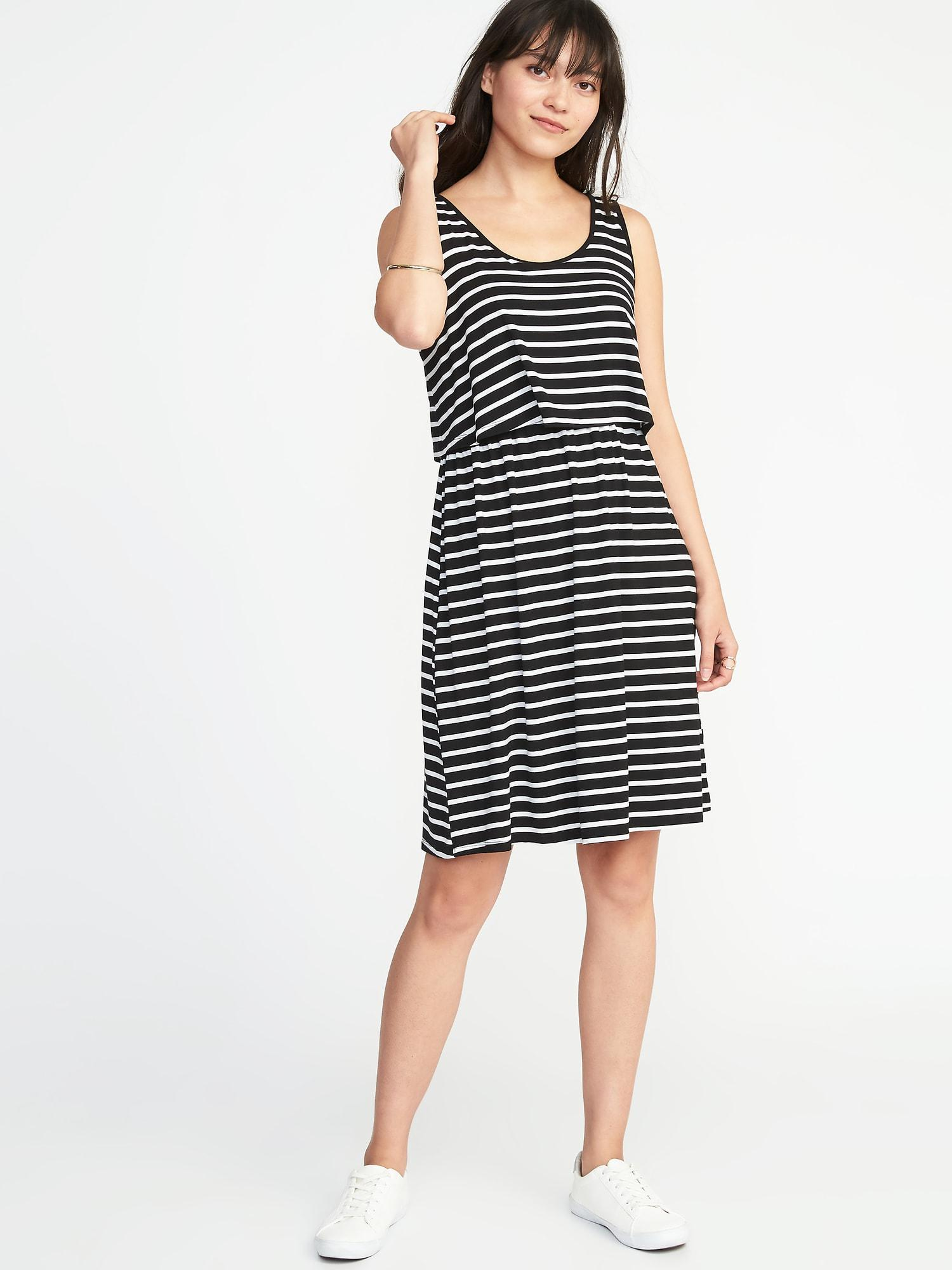 1d9a4b52def Lyst - Old Navy Maternity Double-layer Nursing Dress in Black