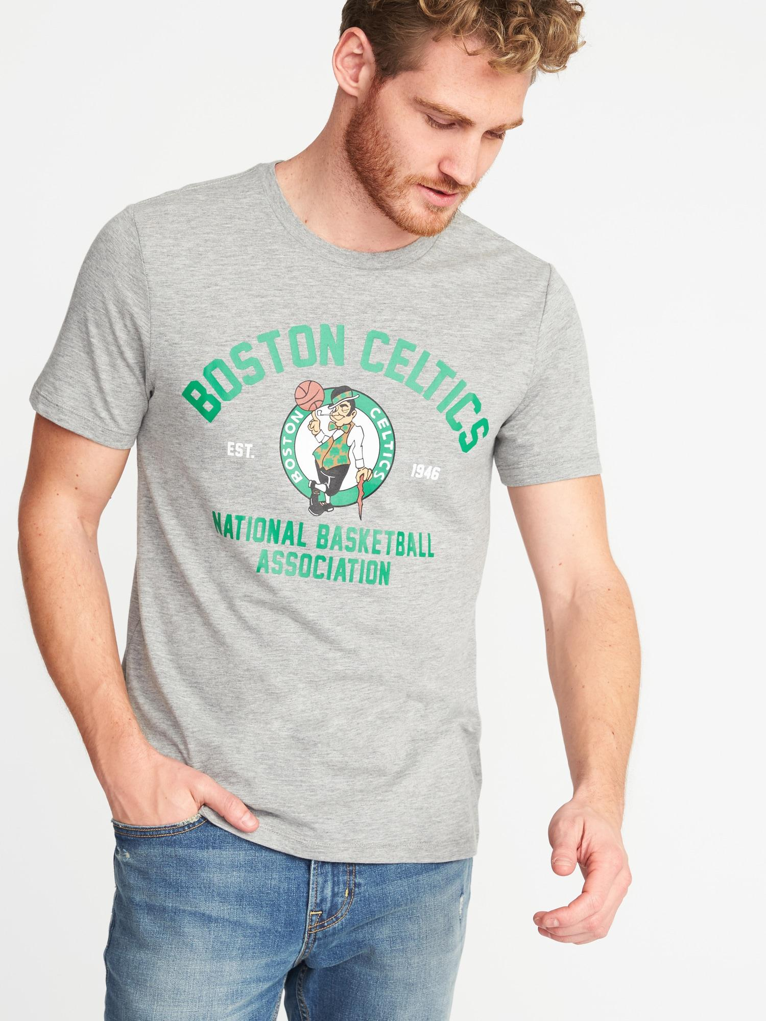 b0177a46623e Lyst - Old Navy Nba® Team-graphic Tee in Gray for Men