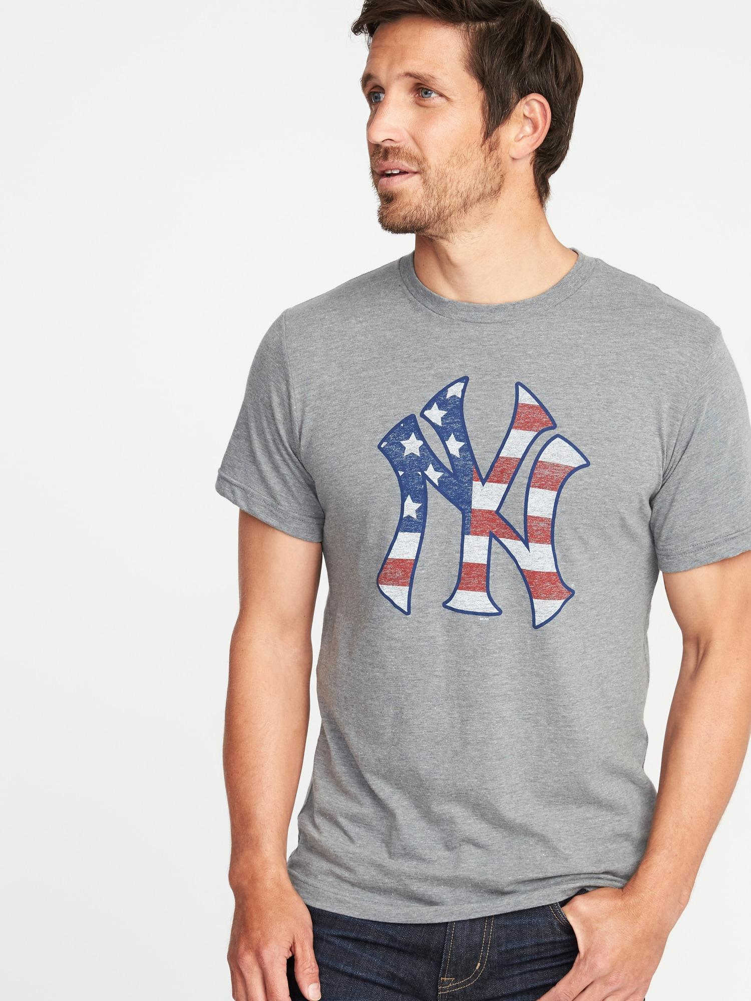9f142240501 Lyst - Old Navy Mlb® Americana Team Tee in Gray for Men