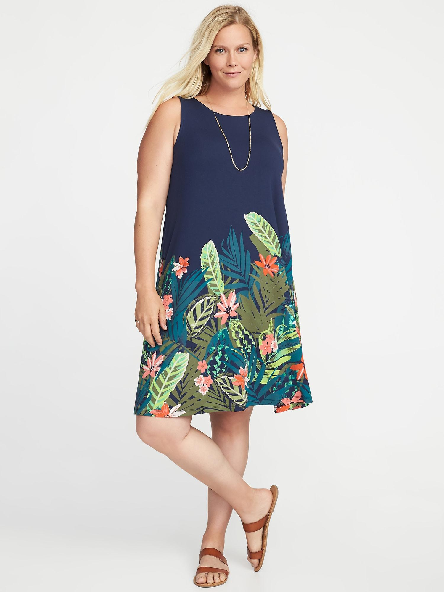 dc0539d2b3a Gallery. Previously sold at  Old Navy · Women s Jersey Dresses Women s Navy  Dresses Women s Swing ...