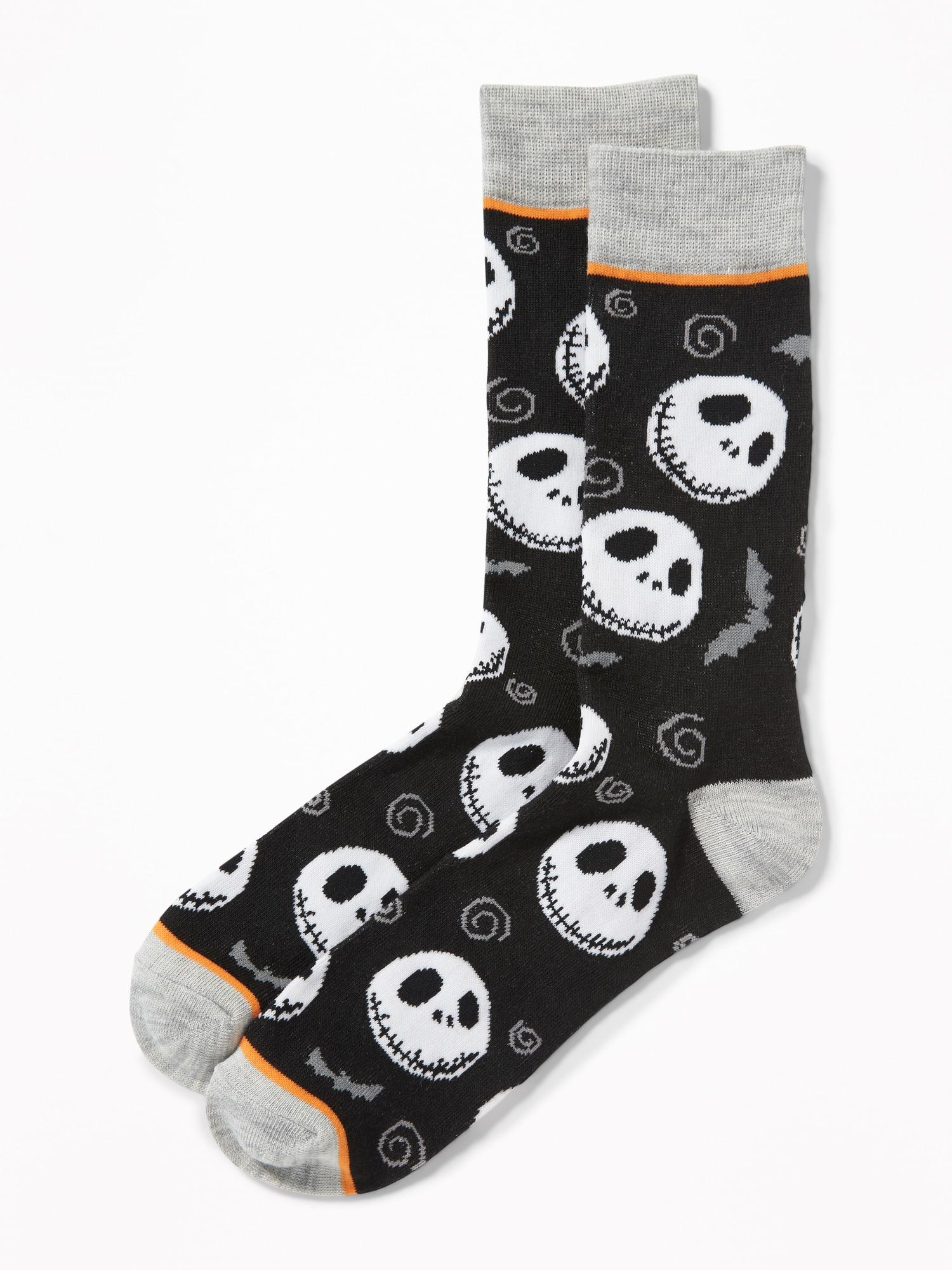 Lyst - Old Navy Disney© Nightmare Before Christmas Socks in Black ...